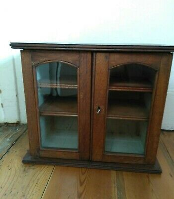 Antique  Wooden smokers/tobacco cabinet - Edwardian - Drawers