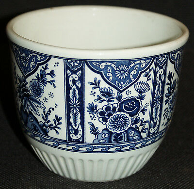Ancien cache-pot Delfts by BOCH made for ROYAL SPHINX Holland. Modèle M12 flower