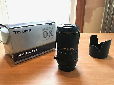 Tokina 50-135mm f/2.8 AT-X 535 AF PRO DX (Canon fit)