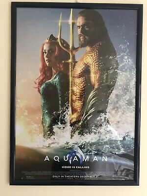 Aquaman/Wonder Woman/Justice League Triple Pack A1 Glossy Cinema Posters