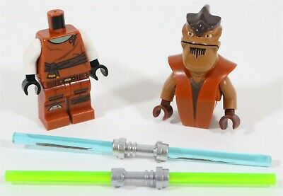 Lego Star Wars Pong Krell Minifigure Jedi Master - Made Of Genuine Lego Parts