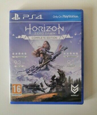 [New/Sealed] Horizon Zero Dawn Complete Edition PS4 SAME DAY Dispatch [By 4pm]