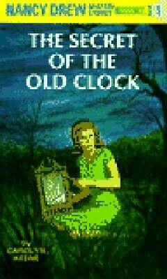 The Secret of the Old Clock (Nancy Drew, Book 1) - Hardcover - ACCEPTABLE