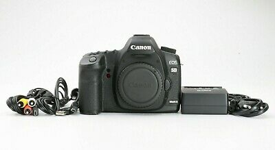 Canon EOS 5D Mark II 21.1MP 3 Zoll Display Digitalkamera - Schwarz Zustand gut