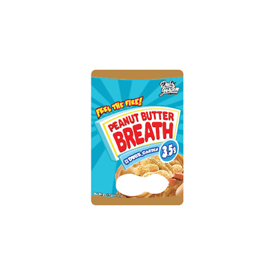 Big Smokey Farms Peanut Butter Breath 3.5g press it in cali Tins with labels