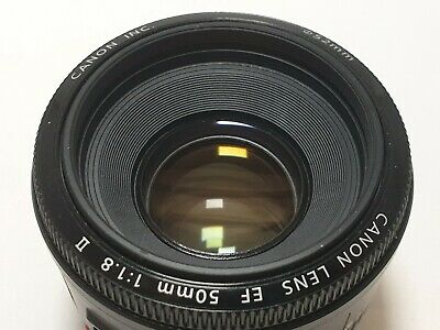 Canon EF 50mm F/1.8 II Standard AutoFocus Lens (Boxed) PERFECT Condition