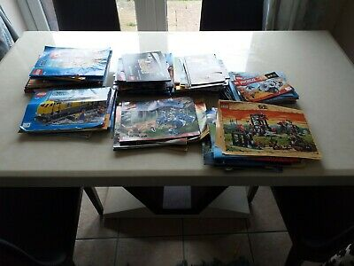 11KG JOBLOT LEGO INSTRUCTION MANUALS STAR WARS, VINTAGE, TECHNIC, CITY, Castle