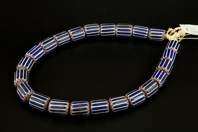 Necklace Collier CHEVRON beads perles Rosetta 6 layers couches Murano