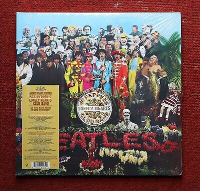 The Beatles Sgt. Pepper's Lonely Hearts Club Band 50th Anniversary 2xLP Vinyl