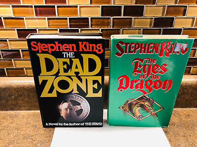 Stephen King The Eyes Of The Dragon TRUE First Edition $18.95 VIKING & Dead Zone