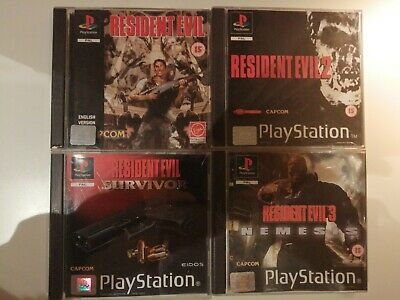 Ps1 Resident Evil Collection