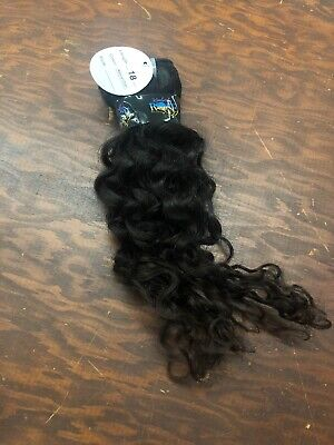 "Kimberly Rose Black 18"" Hair Extensions NEW"