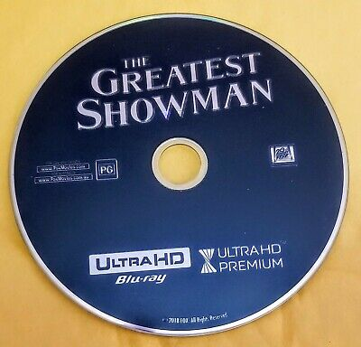 The Greatest Showman 4K Disc Only