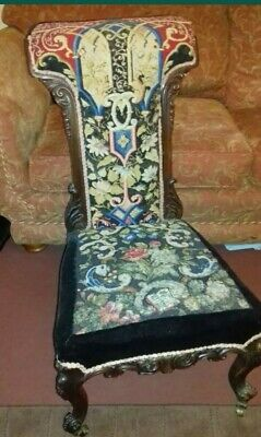 Victorian prie dieu. Prayer Chair Collection from SE Essex (SS9)