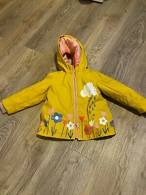 M&S - 2 Part Rain Coat Girls Age 2-3