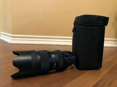 SIGMA 50-100mm f/1.8 DC Art Lens for Canon EF *Excellent Condition*