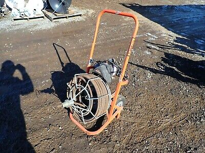 General Pipe Cleaners Easy Rooter Drain Snake, 80' Length, Electric Motor
