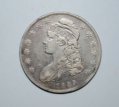 1835 Capped Bust Half  Dollar    -    nice coin   -    affordable