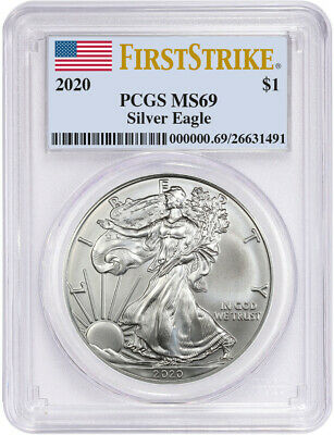 2020 American Silver Eagle PCGS First Strike MS69