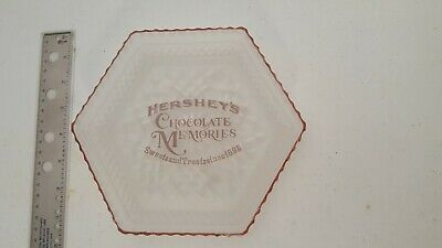 hershey's hexagonal frosted plate