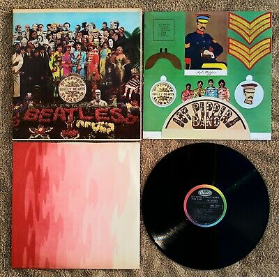 The Beatles Sgt. Peppers Lonely Hearts Club Band Vinyl Lp 1967 Mono Mas 2653 Vg+