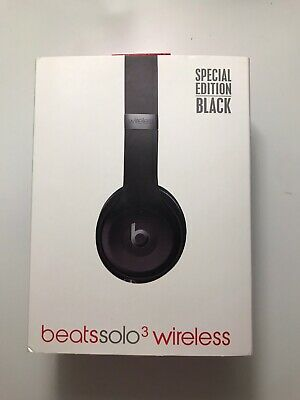 Beats By Dre Solo3 Wireless Headphones - Special Edition Black