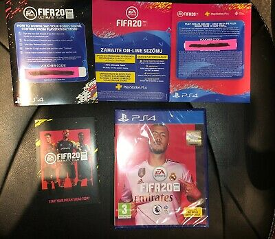 FIFA 20 PS4 With Ultimate Team & online trial Playstation 4 Brand New Sealed