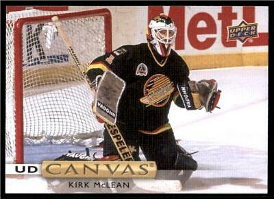 2019-20 Series 2 Canvas Retired Stars #C242 Kirk McLean - Vancouver Canucks