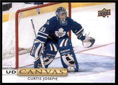 2019-20 Series 2 Canvas Retired Stars #C246 Curtis Joseph - Toronto Maple Leafs