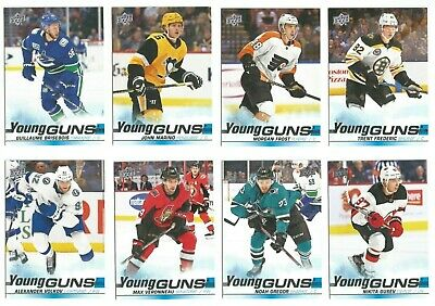 2019-20 Upper Deck Series 2 Young Guns Rookie RC (#451-#500) YOU PICK FROM LIST