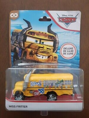 Disney Pixar Cars Diecast Miss Fritter Thunder Hollow Deluxe Mattel - Genuine