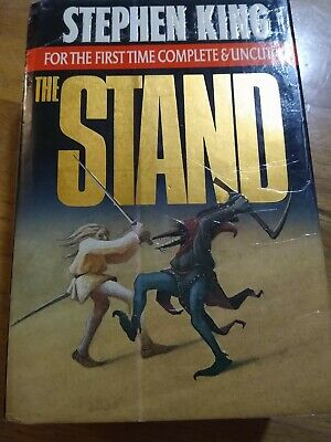 The Stand Complete and Uncut, Stephen King, HC/DJ early printing