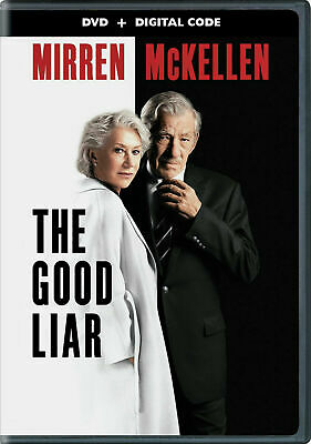 The Good Liar DVD - Helen Mirren & Ian McKellen