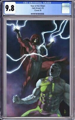 Year Of The Villain: Hell Arisen 3 CGC 9.8 Cover B 1st Punchline Preorder