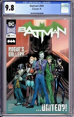 Batman 89 CGC 9.8 Cover A 1st Appearance Of Punchline Preorder