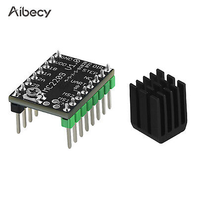 Aibecy TMC2209 V1.0 Stepper Motor Driver with Heat Sink Excellent Mute W8P0