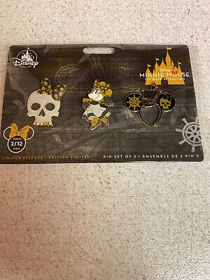 NEW Disney Minnie Mouse Main Attraction Pin #2 February Pirates   In Hand Ready