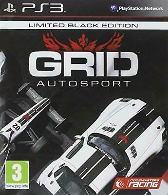 GRID Autosport Black Edition PS3 PlayStation 3 Video Game Mint Cond UK Release