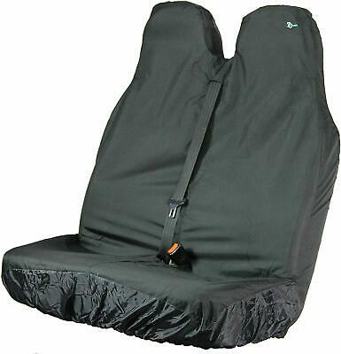 Town and Country Covers Van Double Passenger Front Seat Cover - Black NEW