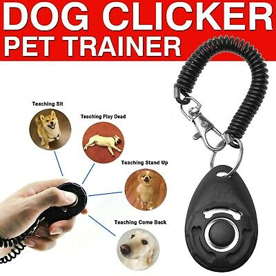 Dog Clicker Toys Pet Tranining Clickers Obedience Dog Cat Training Trainer Tool