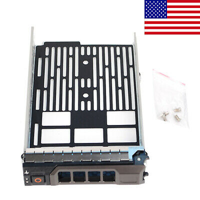 """25 Screws Dell hot swap tray 1F912 9D988 4649C 5649C 3.5/"""" drives stainless BCG"""