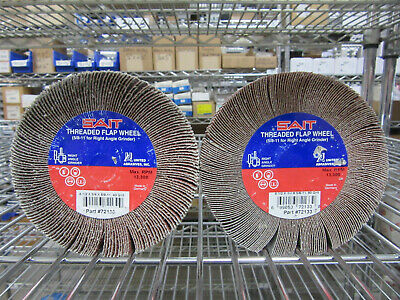 UNITED ABRASIVES SAIT 70064 2-1//2 x 1//2 x 1//4 Premium Flap Wheel 240 Grit Qty 10