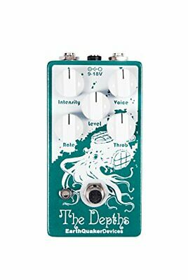 New Earth Quaker Devices Analog Optical Vibe Machine The Depths Effector