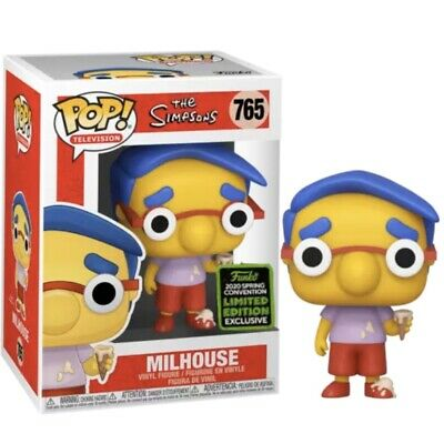 Milhouse Ice Cream The Simpsons Funko Pop 2020 ECCC Exclusive Shared Preorder