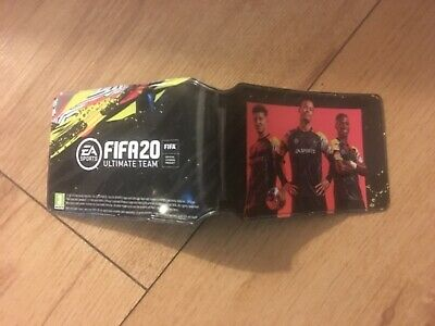 Fifa 20 rare promo launch card holder , new Xbox one/ PS4