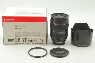 【TOP MINT in Box】 Canon EF 28-70mm f/2.8 L USM Zoom AF Lens w/ Hood From JAPAN