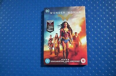 DC Wonder Woman (2017)  DVD.