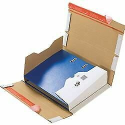 ColomPac CP 055 Secure Book Wraps Corrugated Cardboard