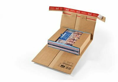 ColomPac CP 030 Extra Strong Book Wraps Corrugated Cardboard