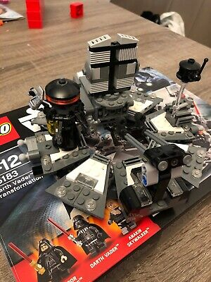 LEGO Star Wars Darth Vader Transformation (75183) Bespielt Ohne Figuren